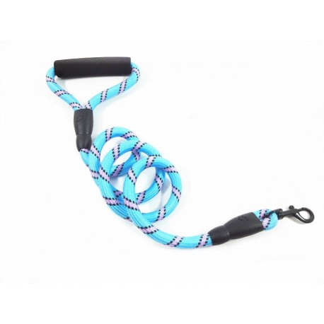 Chewproof Reflective Cord Dog Leash Uncycled Soft Lead