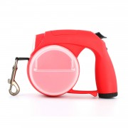 All-in-one Red Best Retractable Dog Leash Ultimate Multi-functional Design