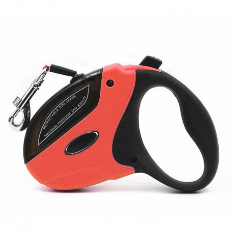 One-hand Control Strong Dog Leash Retractable Anti-slip Comfortable