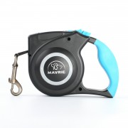 Safe Night Walking Retractable Dog Leash with Flashlight 360° Tangle-Free Ultra Bright