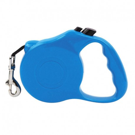 Smooth Retractable Cute Dog Leash Durable Design with Nylon Strap