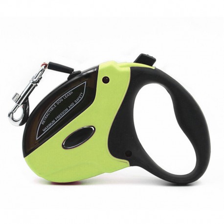 Soft Touch Durable Quick Release Dog Leash Retractable Silent Action