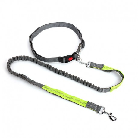 Double Handles Durable Running Dog Leash Breathable Light Material