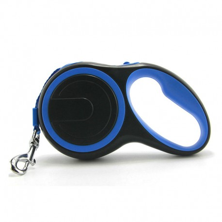 Tangle Free Retractable Outdoor Dog Leash Quick Release Comfortable Touch