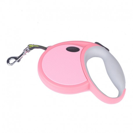 Portable Design Retractable Lead Leash for Dog One-Button Control