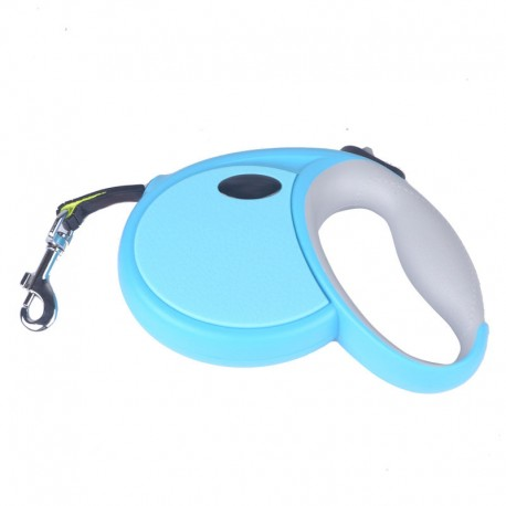 Smooth Action Retractable Lead Leash for Dog One-Button Control