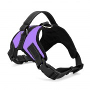 Sturdy Shell Tactical Dog Harness with Reflective Straps for Safe Night Walking