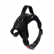 Reliable Sturdy Tactical Dog Harness with Top Handle for Extra Control
