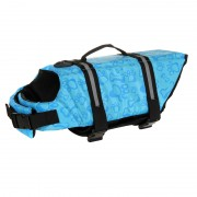 Dog Life Jacket Preserver with Sturdy Handles for Increased Guidance