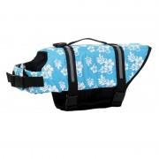 Dog Life Jacket with New Reflective Strips for Maximum Visibility