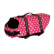 Dog Life Jacket with Reflective Strips and Top Handle for Easy Notice and Better Control