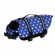 Neoprene Reflective Dog Life Jacket with Float Foam for Increased Safety