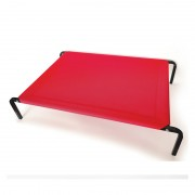 Elevated Dog Bed with Sturdy Frame and Elastic Surface for Increased Comfort