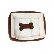 Dog Sofa Bed with Bolster Cushion for Increased Support