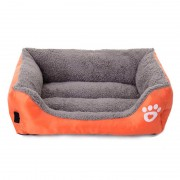 Bolster Dog Bed Suede Cuddler to Keep Dog Warm in Winter