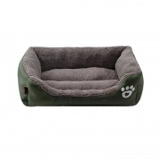 Bolster Dog Bed Self Warming Suitable for Winter and Daily Use