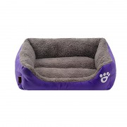 Bolster Dog Bed with Cozy Memory Foam for Ultimate Comfort