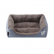 Bolster Dog Bed with Orthopedic Cushion for Better Body Support and Release Stress
