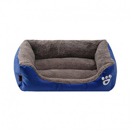 Bolster Dog Bed with Thicker Memory Foam for Virtually Indestructible