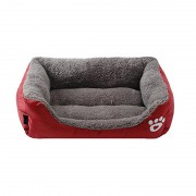 Bolster Dog Bed with Premium Headrest Memory Foam for Lasting Support