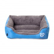 Bolster Dog Bed with Premium Overstuffed Foam for Snoozing Pleasure