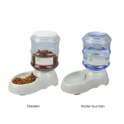 Automatic Dog Water Bowl Gravity Design for Energy Saving and Increased Convenience