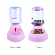 Automatic Dog Water Bowl with Spill Resistant Design and Easy Clean Bottle