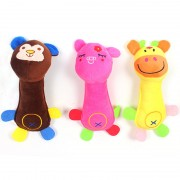 Cute Durable Dog Toy Squeak with 3 Different Designs and Durable Material