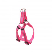 Adjustable Length Medium Dog Harness for Outdoor Activities Pink and Other Colors are Optional