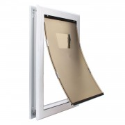 Extra Large Dog Door | Locking Dog Door | Dog Door with Slide-in Panel for Increased Security