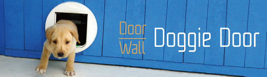 Door & Wall Doggie Door